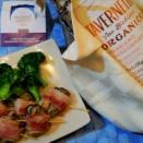 サンジョヴェーゼ トレッビアーノ・シャルドネ☆白ワインでイタリアンバルPart1☆牡蠣のベーコン巻き♡
