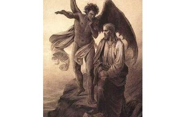 『悪魔 誘惑と神に出会う、 求める事をは?』の画像