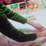 『 北海道歌志内市開講『コミュニケーション心理学13:アートセラピー』受講生の方がフェイスブックにアップしてくれました。転記してます。』の画像