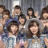 【ベストアーティスト2016】AKB48が「LOVE TRIP」「ハイテンション」を披露、指原莉乃は頬にQR