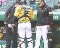 虎党も一安心 負傷交代の阪神・梅野について矢野監督が言及「たぶん大丈夫だと思う」
