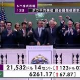 『【10万ドルへGO!!】NYダウがまたまた史上最高値を更新!』の画像
