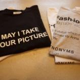 『Anna K(アンナケー)メッセージプリントTシャツ』の画像