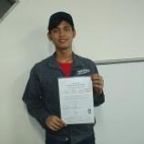 『インドネシア実習生 日本語検定合格』の画像