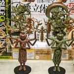 仏像界のスーパースター達がガチャフィギュアに!「日本の至宝 仏像立体図録 廻」