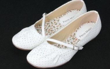 『白い女性の靴は・・・』の画像