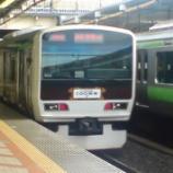 『【過去画】E231系山手線 チョコレート電車』の画像