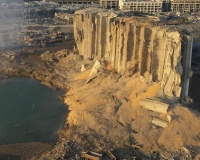 【画像】ベイルート爆発現場の真横の建物wwwwwwwwwwwwwwwwwwwwwwwwww