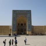 『ウズベキスタン旅行記29 【世界遺産】とにかくでかいカラーン・モスクとミル・アラブ・メドレセ』の画像