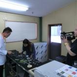 『テレビ東京(テレビ大阪)「モーニングチャージ」の取材』の画像