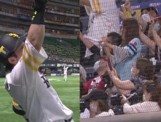 松田宣浩 観客入って今季初熱男弾含むマルチ安打!
