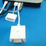 『【Mac mini mid 2011】Mac miniにVGA(アナログRGB D-sub 15pin)のケーブルをつなぐ。【デュアルディスプレイ】』の画像