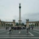 オーストリア旅紀行・その16、ブダペスト観光①・英雄広場+セーチェニ温泉