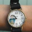 船橋市「船えもん」を描いた腕時計販売中