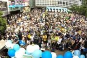 【テロ等準備罪】菅直人元首相「日本は秘密警察国家になろうとしている」 渋谷で反対集会