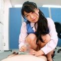 オフィスにパンチラパンコキ娘!!