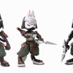 「狐獣人」×「忍」!「忍者狐」がデフォルメ三頭身フィギュアになってガチャに登場