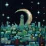 『時計塔のある街』
