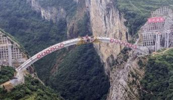 【画像】中国で絶賛建設中の橋がこちら