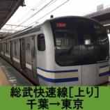 『総武快速線 車窓[上り]千葉→東京』の画像