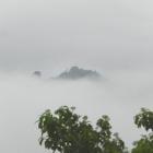 『オノゴロジマ?御嶽山? 標高412mの雲海(旅伏山)』の画像