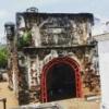 マレーシア・マラッカにある遺跡 サンチャゴ要塞とセントポール教会