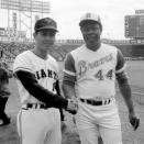 【プロ野球】王貞治氏 親交の深かったハンク・アーロン氏の訃報を悼む・・・