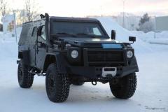 開発中のベンツ「Gクラス」軍用モデル、「LAPV」プロトタイプが撮影される