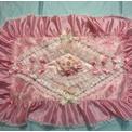 宝塚(タカラヅカ)化粧前一式◆ピンク×バラ◆上掛け 下掛け