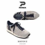 『入荷 | PATRICK (パトリック) BOSTON2 519564 GY/NY 【グレー/ネイビー】』の画像