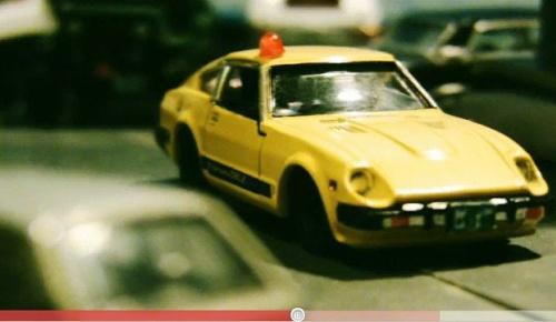 日本人が撮影した西部警察風ミニカーカーチェイス映像が海外でも息の長い人気
