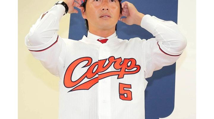 【 画像 】広島のユニフォームを着た長野さんがめっちゃ黒田っぽい件