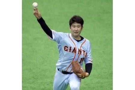 【悲報】菅野、CS目指し硬球で約50球投げる alt=