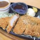 ぶらり、トンカツ定食@池内食堂【大館市】