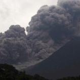 『グアテマラのフエゴ山噴火』の画像