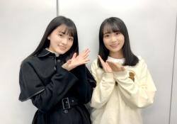 【ぐうかわ】大園桃子×矢久保美緒、桃子がめっちゃ大人っぽく見えるなwwwww