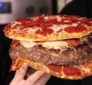 アメリカ人「ピザ食いたい…でもハンバーグも食いたい…」アメリカ人「任せろ」