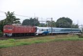 『2020/7/8~9運転 E257系2500番代5両(NC-32編成)秋田出場配給』の画像
