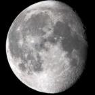 『月齢17.2の綺麗なお月様』の画像