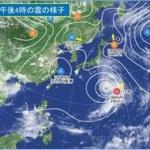 強い台風12号、今日28日の夜以降、西日本や東海に上陸のおそれ…