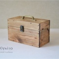 0310<木製マスクケース>国産ひのきのトランクBOX(全3色)Mサイズ)他
