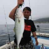 『8月13日 釣果 ジギング イナダ―ワラサ』の画像