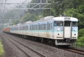 『2018/6/20運転 高崎車両センター115系廃車回送』の画像
