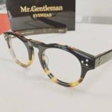 『Mr.Gentleman Eyewear 「HENDRIX 2」入荷』の画像