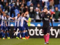 """燃え尽き症候群!?""""奇跡の逆転劇""""から一転…ネイマール不在のバルセロナ、下位相手に痛恨の敗戦!"""