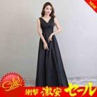 『定番の黒ドレスをオシャレに着こなしたい方は、まずはドレスデザインにこだわってみましょう』の画像