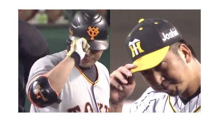 【 動画 】今季で引退する巨人・阿部と阪神・藤川のストレート勝負が熱すぎた件!