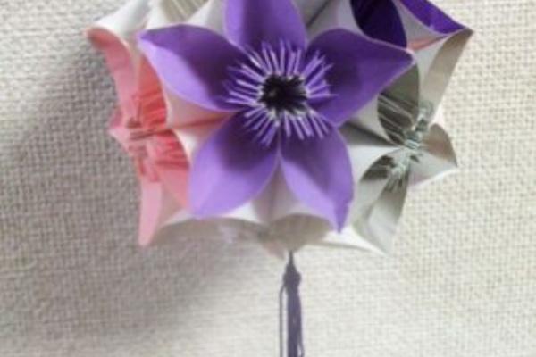 作り方 くす玉 飾り の 七夕 折り紙