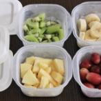 """""""洗いやすくて""""シンプルな保存容器!冷凍フルーツの保存に大活躍♪"""