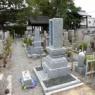 お墓の移設工事完成しました。